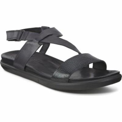 エコー ECCO レディース サンダル・ミュール シューズ・靴 Simpil Strappy Sandal Black/Black
