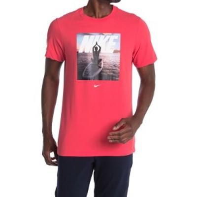ナイキ メンズ シャツ トップス Graphic Crew Neck T-Shirt LTFUSR