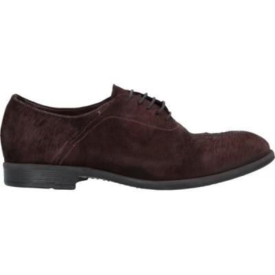 ハンドレッド 100 HUNDRED 100 メンズ シューズ・靴 laced shoes Dark brown