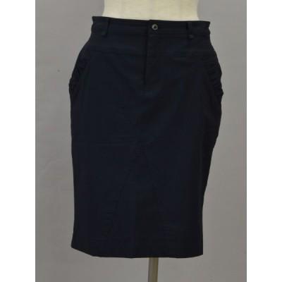 ダブルスタンダードクロージング DOUBLE STANDARD CLOTHING スカート 38サイズ 紺 レディース F-M11728