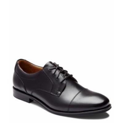 バイオニック メンズ ドレスシューズ シューズ Men's Spruce Shane Cap Toe Oxford Black