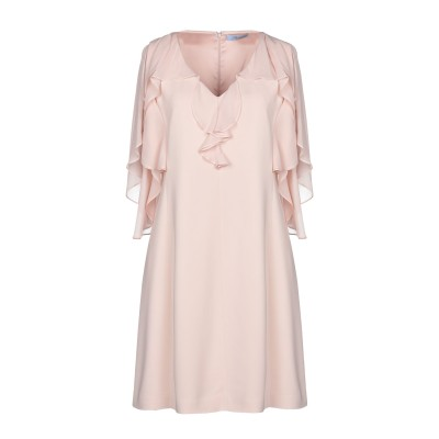 ブルマリン BLUMARINE ミニワンピース&ドレス ライトピンク 44 レーヨン 97% / ポリウレタン 3% ミニワンピース&ドレス