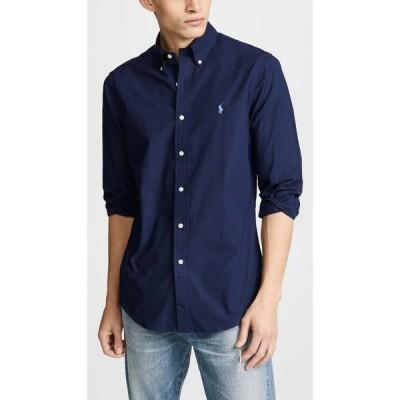 ラルフ ローレン Polo Ralph Lauren メンズ シャツ トップス Slim Stretch Poplin Shirt Navy