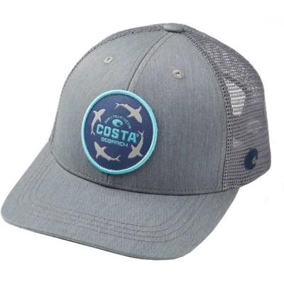 コスタデルメール Costa Del Mar メンズ キャップ トラッカーハット 帽子 OCEARCH Shark Trucker Hat Gray/Gray