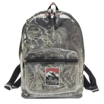 美品 バリー 2019年商品 Elston Backpack エルストン ビニール×ナイロン 取り外し可能 2way バックパック リュック 日本未発売