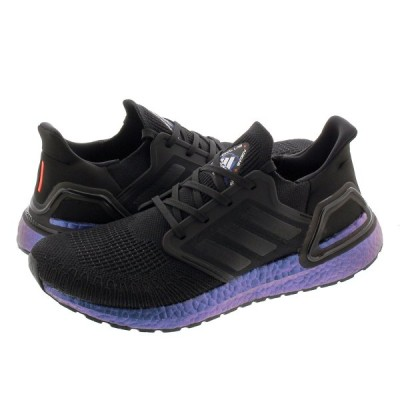 adidas ULTRA BOOST 20 アディダス ウルトラブースト 20 CORE BLACK/CORE BLACK/BOOST BLUE VIOLET METALLIC eg1341
