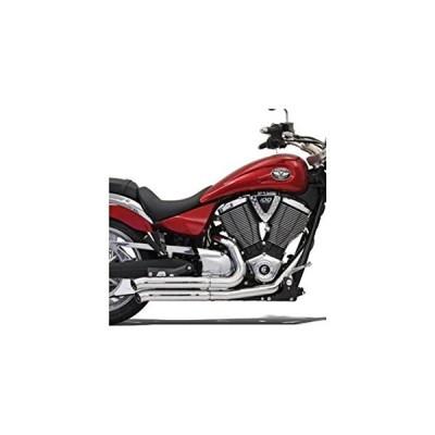 Bassani Manufacturing プロ ストリート Turn アウト Exhaust System - クローム , カラー(海外取寄せ品)