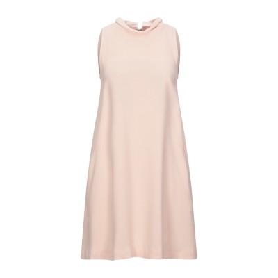 ANNIE P. ミニワンピース&ドレス ライトピンク 44 ポリエステル 100% ミニワンピース&ドレス