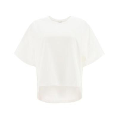 LOEWE/ロエベ Tシャツ WHITE Loewe t-shirt with anagram embroidery レディース 秋冬2020 S359341XA4 ik