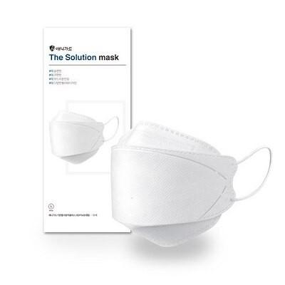エニガード ザソリューション 3Dマスク ホワイト 大型 KF94 10枚入り