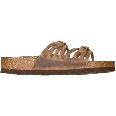 ビルケンシュトック サンダル レディース シューズ Granada Soft Footbed Leather Sandal - Women's Tobacco Oiled Leather