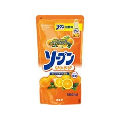 カネヨ石鹸/ソープンオレンジ つめかえ 500ml