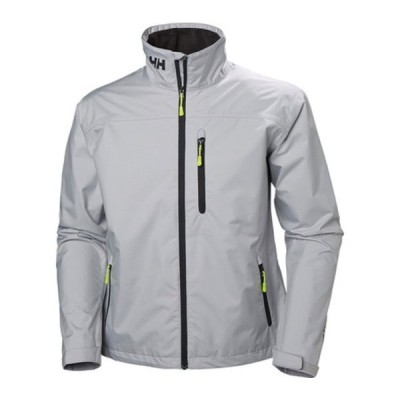 ヘリーハンセン ジャケット&ブルゾン アウター メンズ Crew Jacket (Men's) Grey Fog