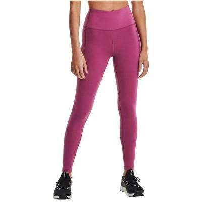 アンダーアーマー カジュアルパンツ ボトムス レディース Meridian Leggings Pink Quartz/Metallic Silver