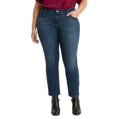 リーバイス レディース デニムパンツ ボトムス 711 Trendy Plus Size Skinny Ankle Jeans