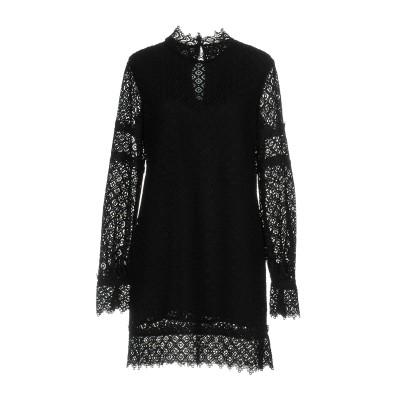 イロ IRO ミニワンピース&ドレス ブラック 34 ナイロン 100% ミニワンピース&ドレス