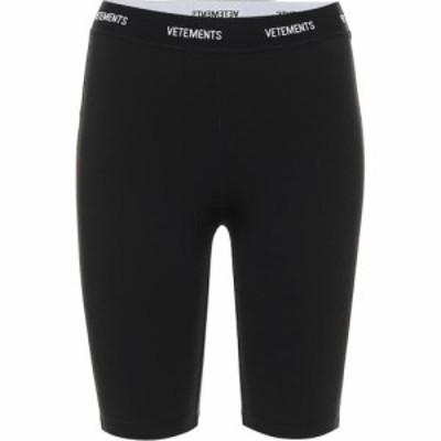 ヴェトモン Vetements レディース ショートパンツ ボトムス・パンツ Jersey Biker Shorts Black