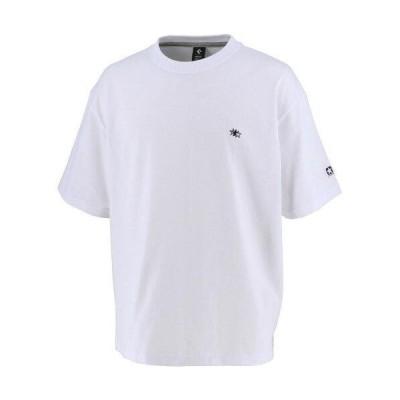 コンバース 1S_クールネックTシャツ (CA211384) [色 : ホワイト] [サイズ : S]