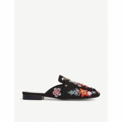 アルド サンダル・ミュール adrelassi embroidered mule sandals Black