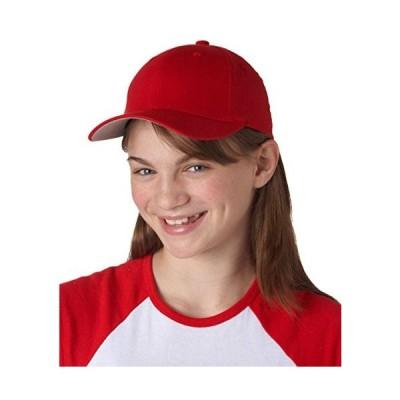 Flexfit Premium Original Wooly Combed Twill Youth Cap 6277Y (Red)【並行輸入品】