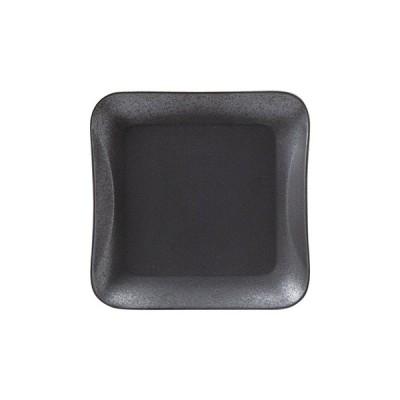桐井陶器 フロウ プレートM マットブラック 303-5916