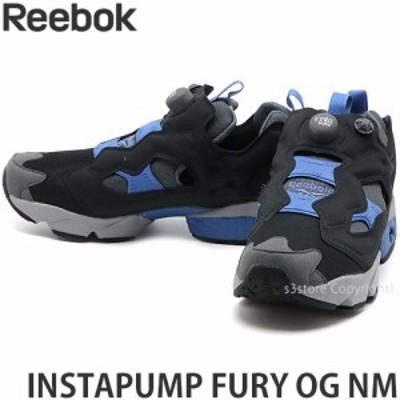 リーボック INSTAPUMP FURY OG NM カラー:ブラック/コールドグレー/ブルーブラスト