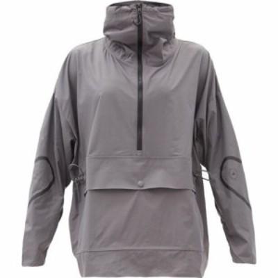 アディダス Adidas By Stella McCartney レディース ジャケット ウィンドブレーカー アウター High-neck half-zip windbreaker jacket Gr