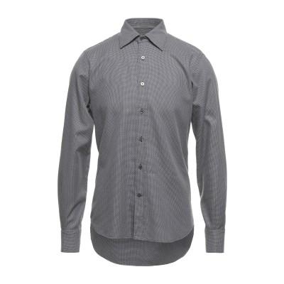 カナーリ CANALI シャツ ブラック S コットン 100% シャツ