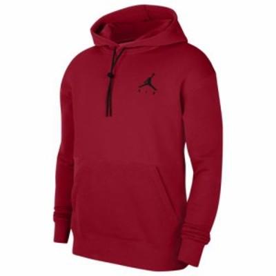 (取寄)ジョーダン メンズ ジャンプマン エア フリース パーカー フーディ Jordan Men's Jumpman Air Fleece Hoodie Gym Red Red