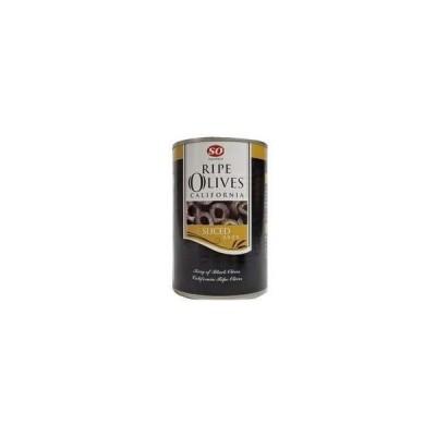 SO カルフォルニア産 スライス ライプオリーブ 4号缶 400gX24缶【入り数3】