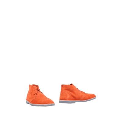 LEREWS ショートブーツ 赤茶色 38 革 ショートブーツ