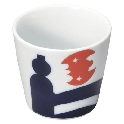 (業務用・フリーカップ)ニッポン ナガサキ文様 カップ 欄干に蝙蝠[50361-738](入数:5)