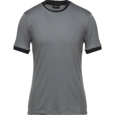 アルマーニ GIORGIO ARMANI メンズ Tシャツ トップス t-shirt Grey
