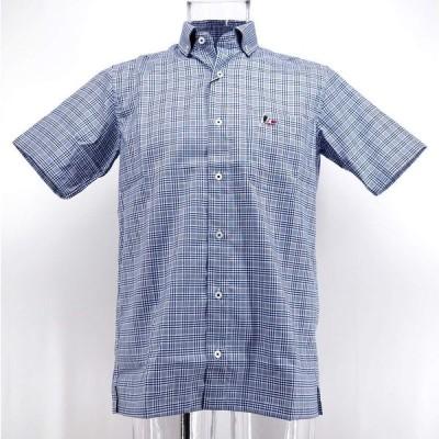 カプリ ボタンダウンシャツ 半袖 綿(コットン) M/L/LL メンズ ファッション 服 カジュアル 春夏
