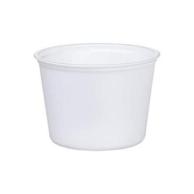 中央化学 使い捨て 容器 テイクアウト ランチ 弁当 日本製 丸型 CFカップ 本体 100枚入 360ml 直径10.2×7.2cm 105-360