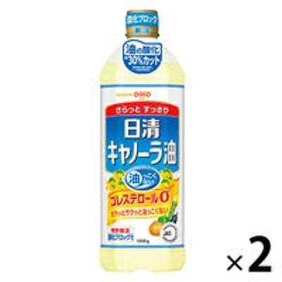 日清オイリオ日清オイリオ キャノーラ油 1セット(1000g×2本)