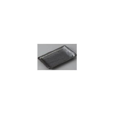 一珍黒結晶のり皿 16.4×10.2×2 定価692円