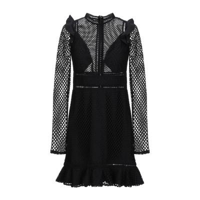 ゲス GUESS ミニワンピース&ドレス ブラック S ポリエステル 97% / ポリウレタン 3% ミニワンピース&ドレス