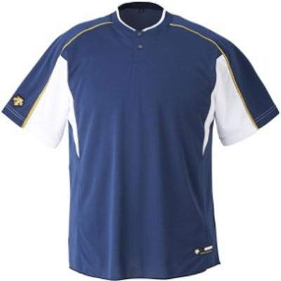 ベースボールシヤツ【DESCENTE】デサントヤキュウソフトベースボールTシャツ(db104b-nvsw)