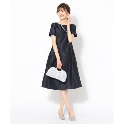 【エニィスィス】 ロイヤルレディシャンタン ドレス レディース ネイビー 2 any SiS
