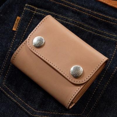 レッドムーン 財布 REDMOON ハーフウォレット THW03-TW  オリジナルボタン レザーウォレット
