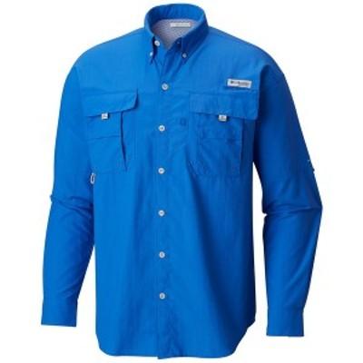 コロンビア メンズ シャツ トップス Men's PFG Bahama II Convertible Shirt Vivid Blue