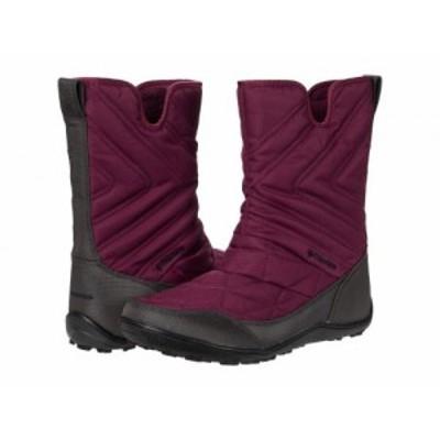 Columbia コロンビア レディース 女性用 シューズ 靴 ブーツ スノーブーツ Minx Slip III Currant/Black【送料無料】