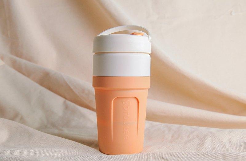 第一代盛食杯 = 誠實 730ml大容量  奶茶色 大地莊園系列