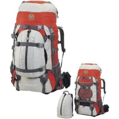 キャンプ&ハイキング 高ピーク米国 Alpinizmo ルナ バックパック 55 + 10、赤