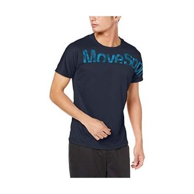 デサント 半袖Tシャツ 吸汗速乾 MOVESPORT DMMOJA50 メンズ NV M