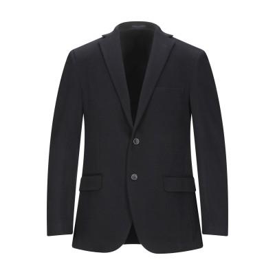 マーロ MALO テーラードジャケット ブラック 48 カシミヤ 100% テーラードジャケット