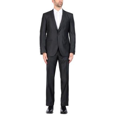 FUENTECAPALA スーツ ブラック 52 58% バージンウール 42% シルク スーツ