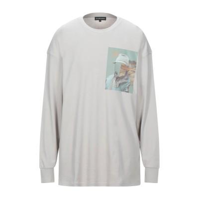 レス ベンジャミンズ LES BENJAMINS T シャツ ライトグレー S コットン 100% T シャツ