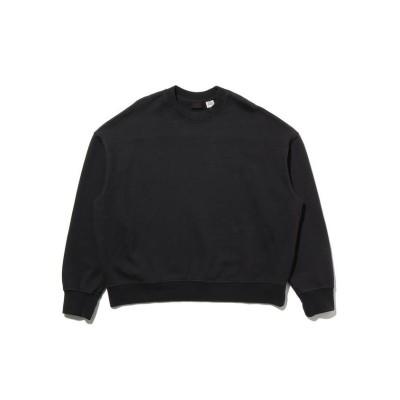 【リーバイス】 RED TAB スウェットシャツ CAVIAR GARMENT DYE レディース BLACKS XS- Levi's